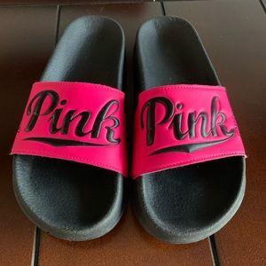 c223fe9bfcf Women s Victoria Secret Pink Nation Sandals on Poshmark